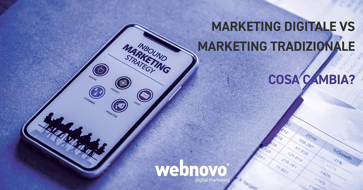 marketing digitale e marketing tradizionale