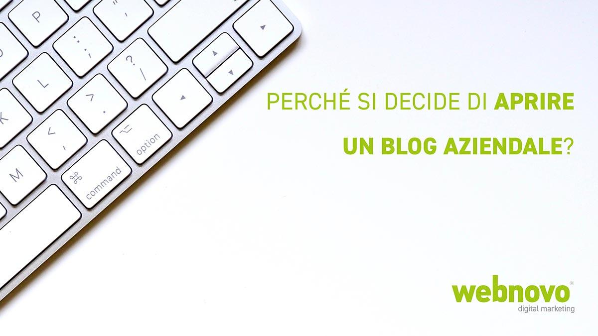 aprire un blog aziendale