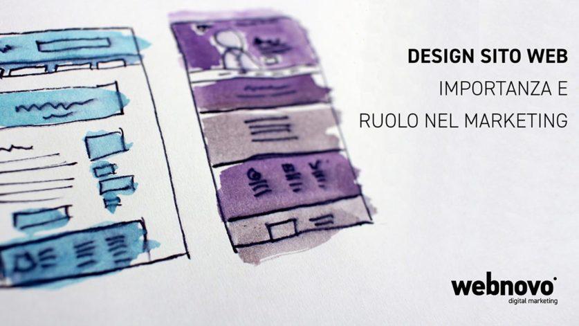 Design sito web importanza e ruolo nel marketing webnovo for Design sito