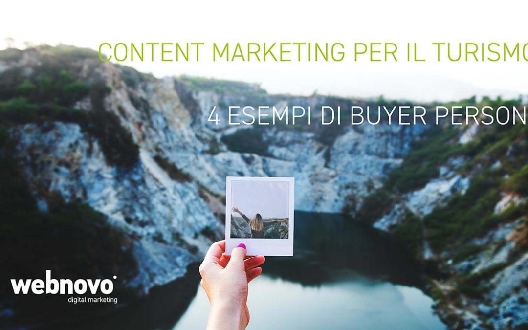 Content Marketing per il Turismo: 4 esempi di Buyer Personas