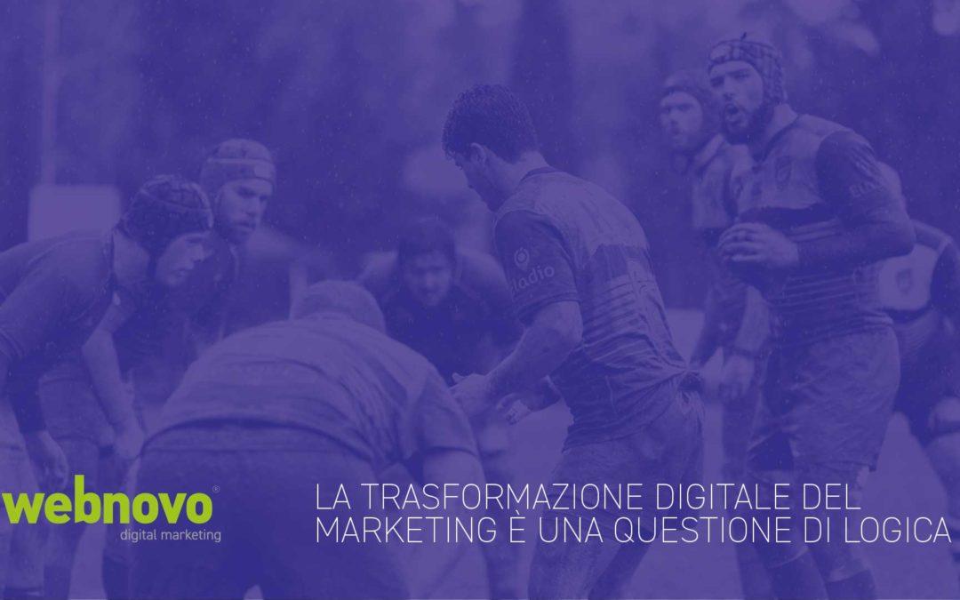 La trasformazione digitale del marketing è una questione di logica