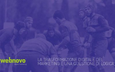 La trasformazione digitale del marketing è una questione di logica