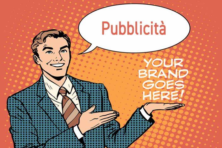 Marketing pubblicitario comunemente chiamato pubblicità