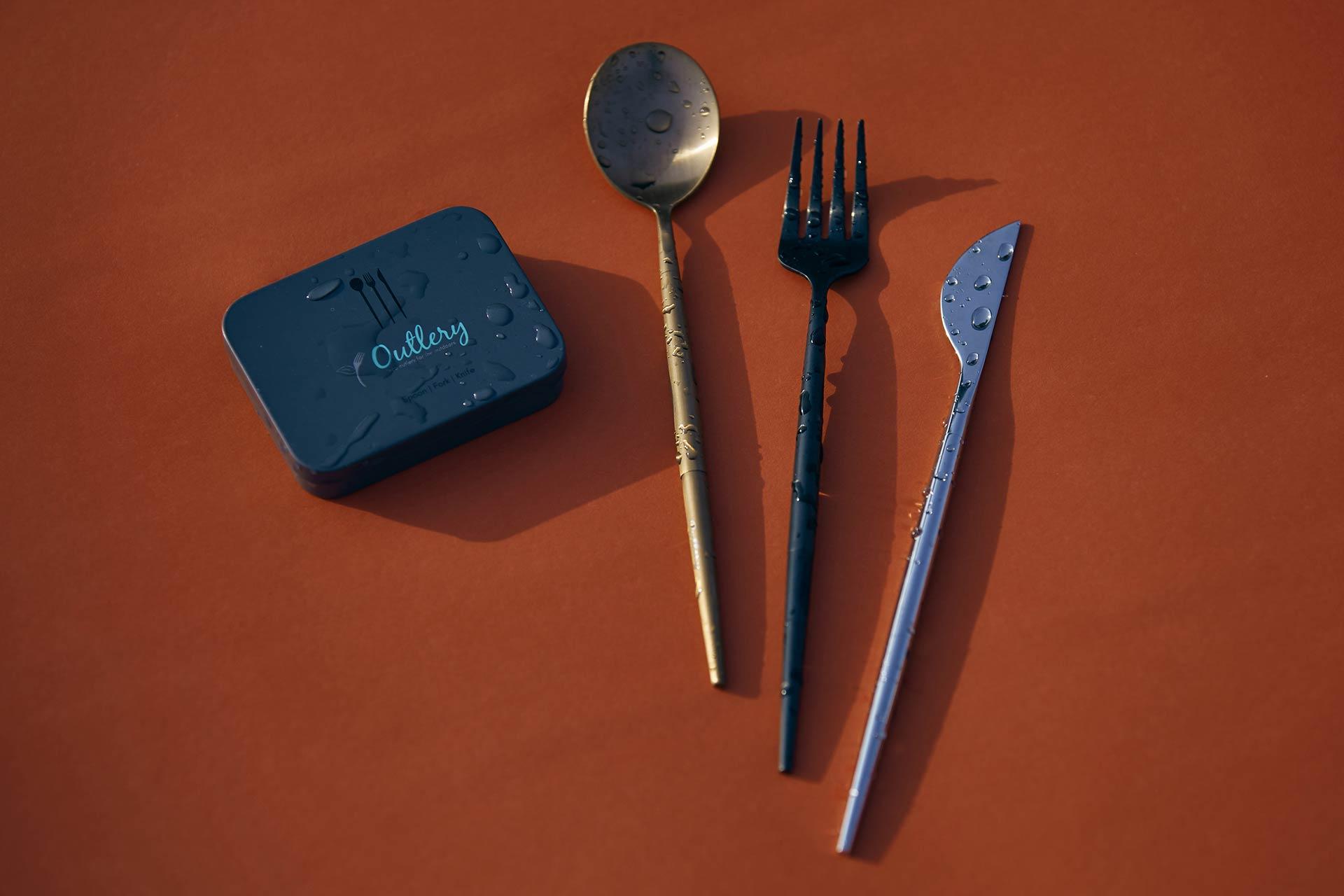 Posate riutilizzabili Outlery