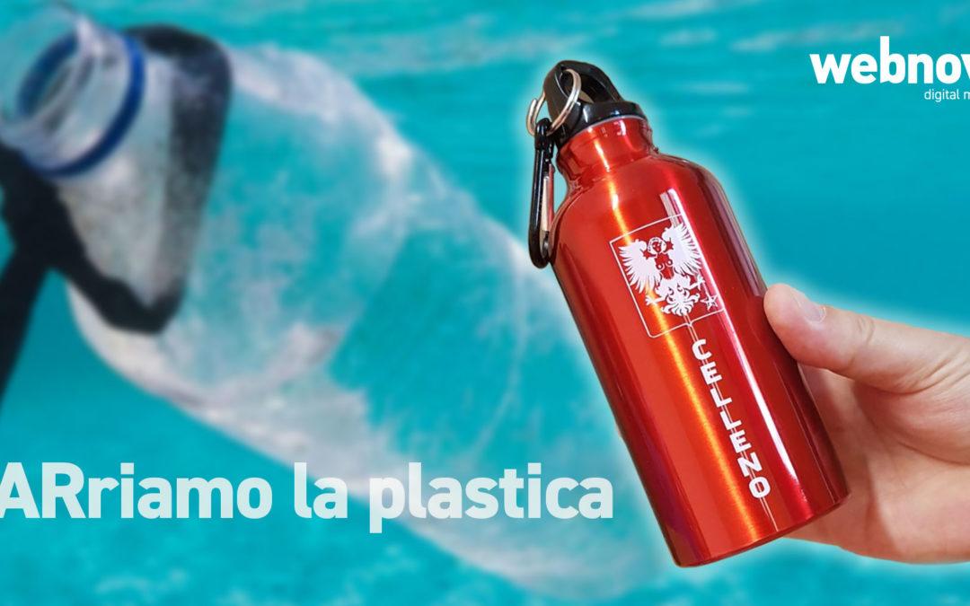 """Webnovo sponsor del progetto """"BARriamo la plastica"""" realizzato dal comune di Celleno"""