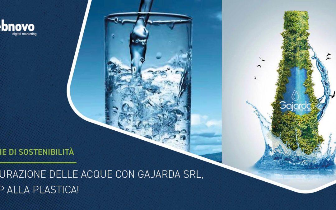 Depurazione delle acque con Gajarda Srl, stop alla plastica!