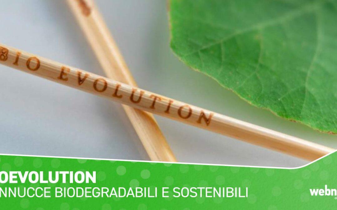 Bio Evolution Italia, Cannucce biodegradabili e sostenibili