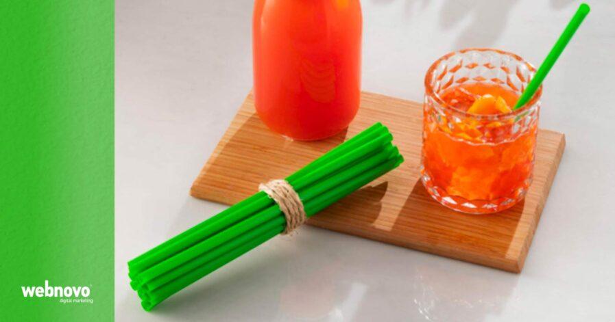 cannucce biodegradabili colorate